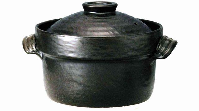 マルヨシ陶器 大黒 セリオンごはん鍋 3合炊