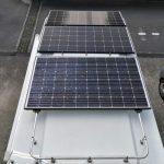 キャンピングカー ソーラーパネル
